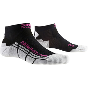 X-Socks Run Discovery Calcetines Running Mujer, black melange